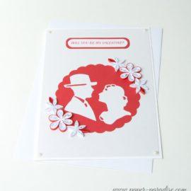 wyjątkowe kartki walentynkowe ręcznie robione quilling unique valentines day cards handmade