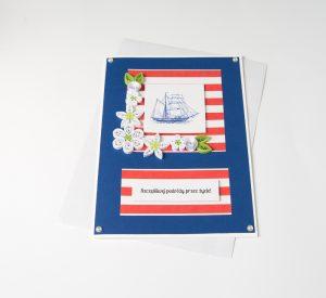 Wedding Card for a Sailor