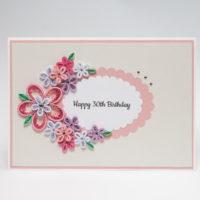 Kartka urodzinowa – kolory pastelowe