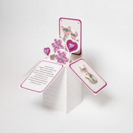 Kartka z kotami – pudełko