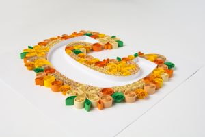 """Read more about the article Quilled Letter """"C"""""""