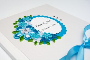 Read more about the article Wedding Guest Book – Blue