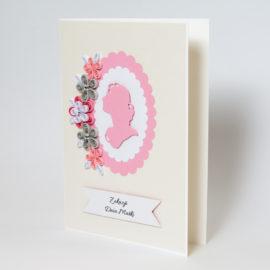 Kartka dla kobiety – Kolor różowy