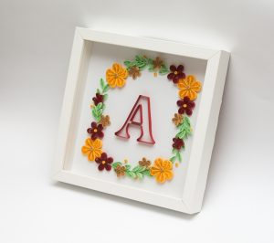 Read more about the article Quilled Floral Wreath