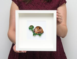 Read more about the article Quilled Little Turtle
