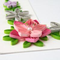Ramka na zdjęcie – kolor różowy i szary