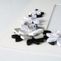 Ramka na zdjęcie – kolor czarny i biały