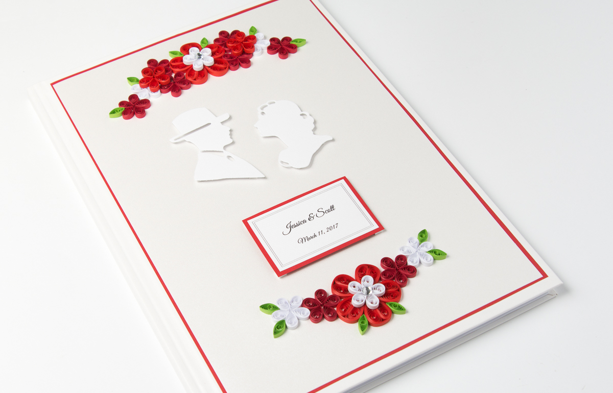 You are currently viewing Unique Red Wedding Guest Book