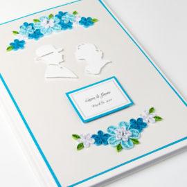 Księga Gości – Niebieska Para
