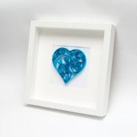 Obrazek – Niebieskie serce
