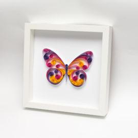 Obrazek – Kolorowy motyl