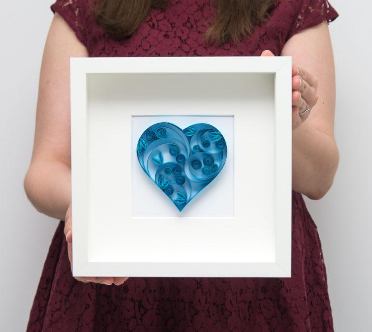 Niebieskie serce