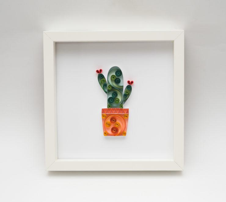 Papierowy kaktus – oryginalna dekoracja mieszkania