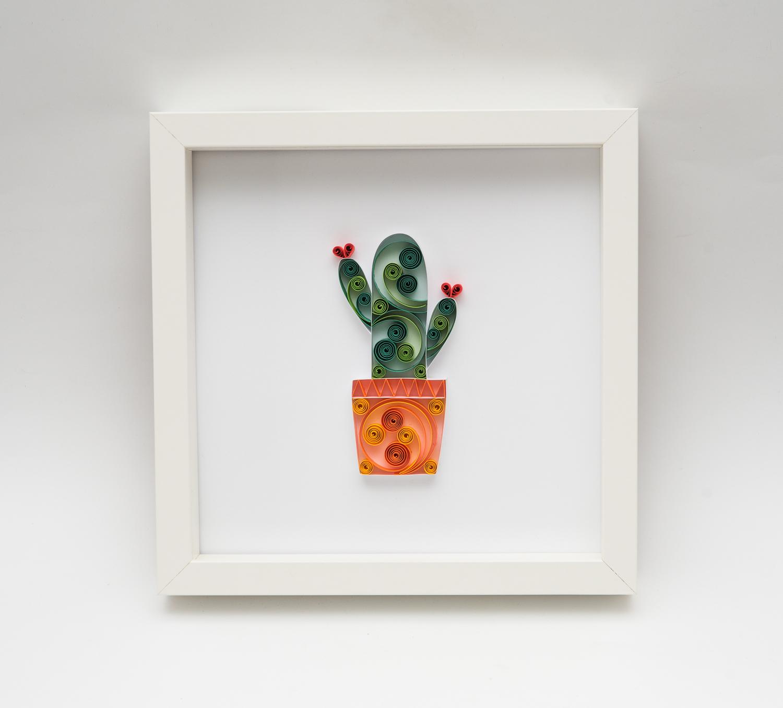 Read more about the article Papierowy kaktus – oryginalna dekoracja mieszkania