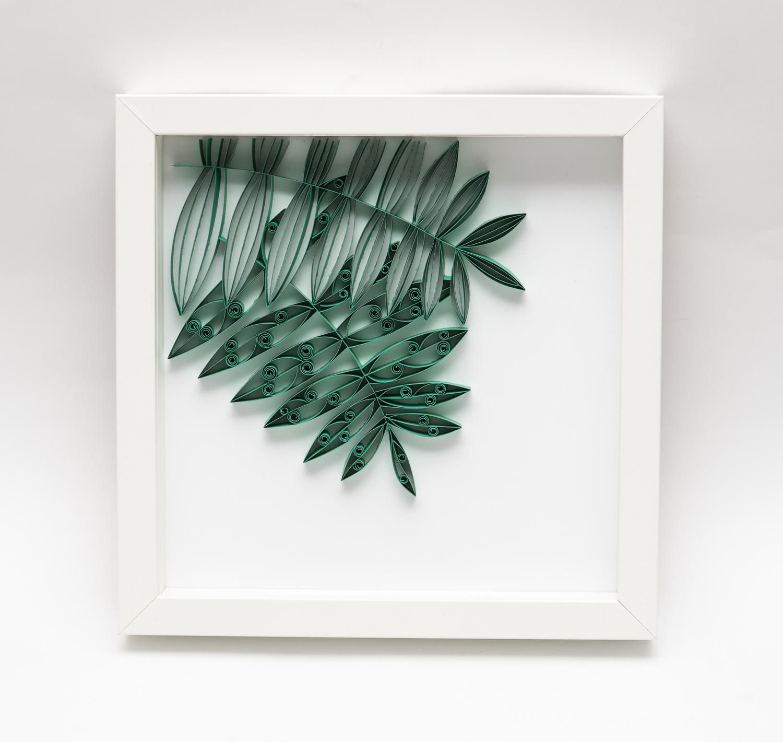 Liść paproci – Tropikalna dekoracja mieszkania