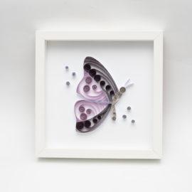 Obrazek – Fioletowy motyl