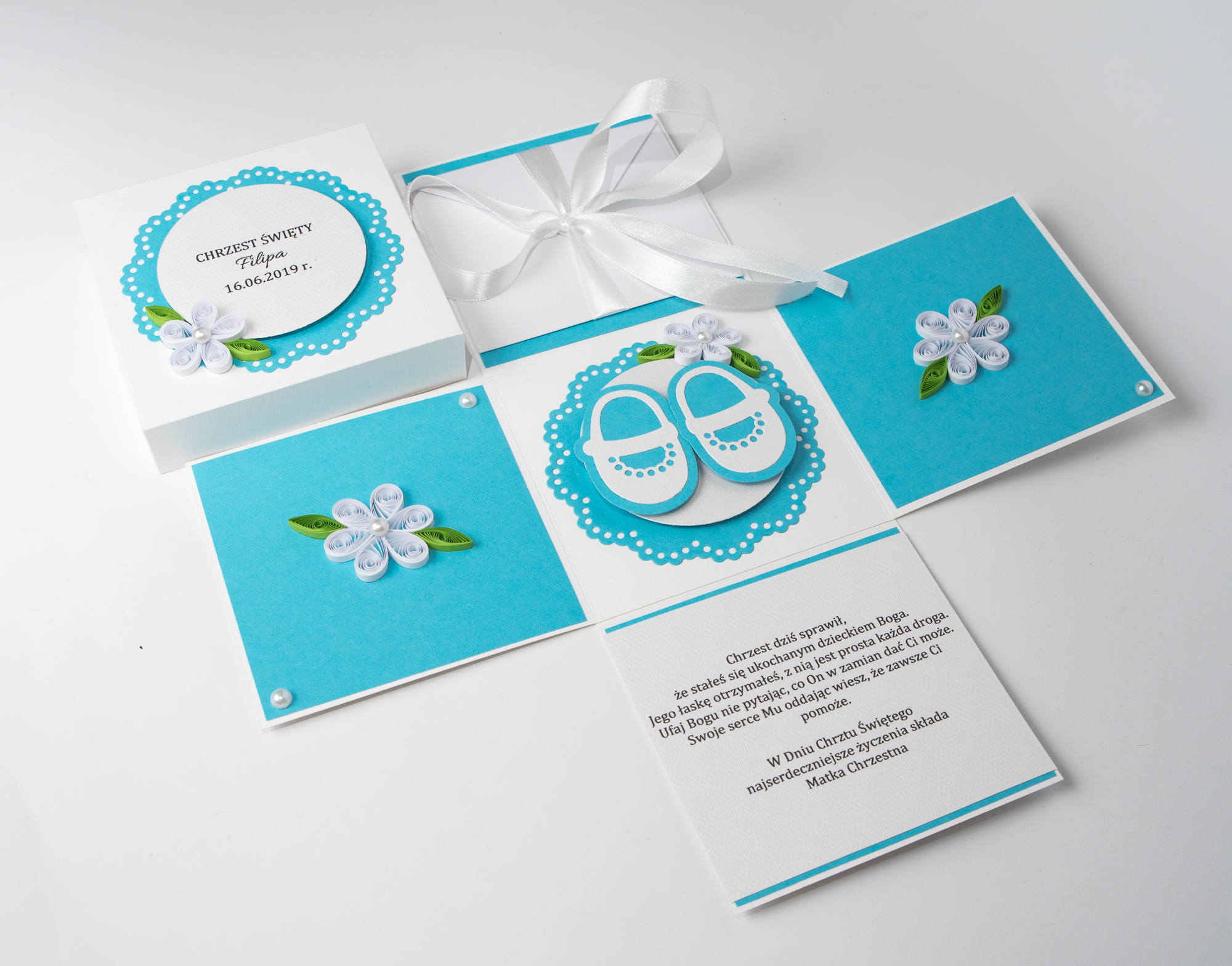 You are currently viewing Unique Baby Shower Invitations – Blue Exploding Box
