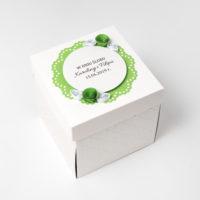Kartka na ślub – Exploding Box, zielony