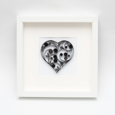 Obrazek – Czarne serce