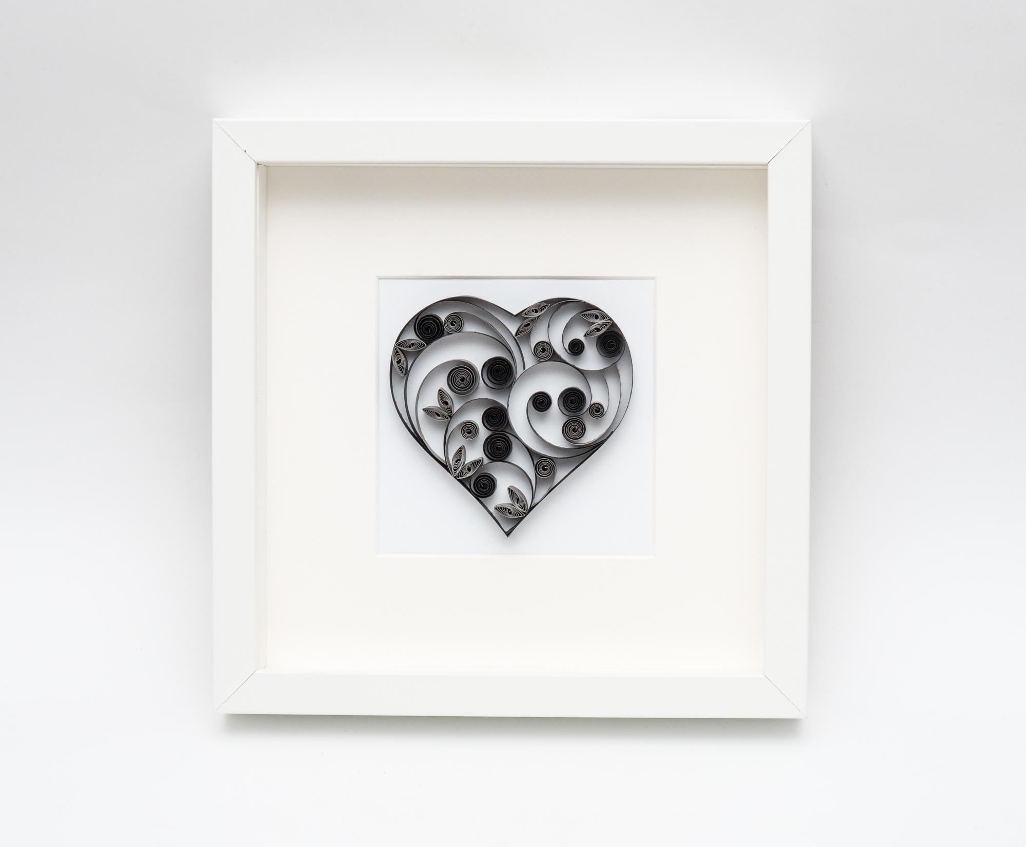 Czarne serce – Nowoczesna dekoracja mieszkania