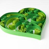 Obrazek – Zielone serce