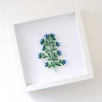 Obrazek – Niebieskie kwiaty