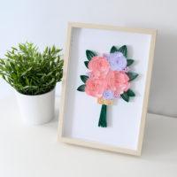 Różowe piwonie – Obrazek