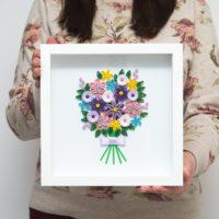 Bukiet – Fioletowe kwiaty