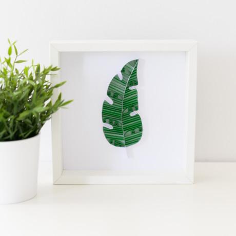 Obrazek – liść bananowca
