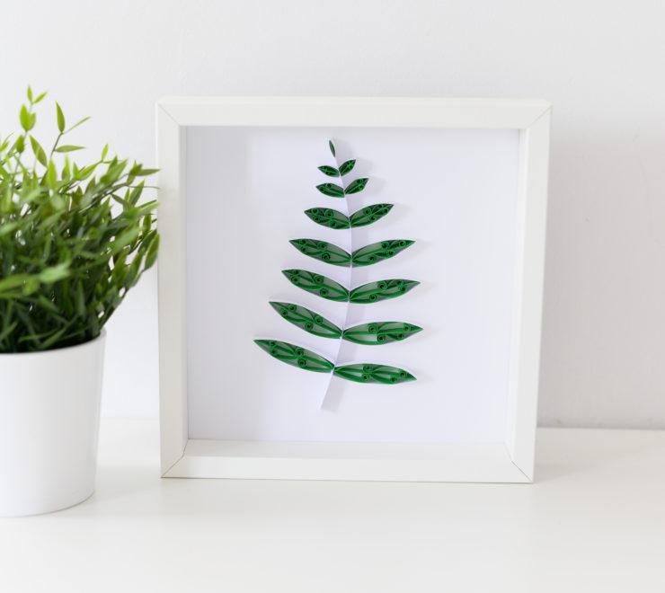 Liść paproci – roślinne dekoracje do domu
