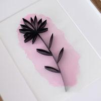 Minimalistyczne kwiaty – #1
