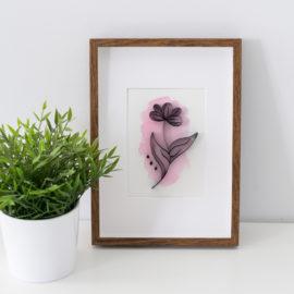 Minimalistyczne kwiaty – #3