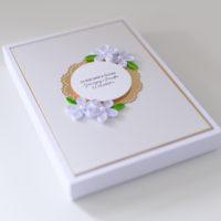 Kartka w pudełku na rocznicę ślubu – Złote Gody