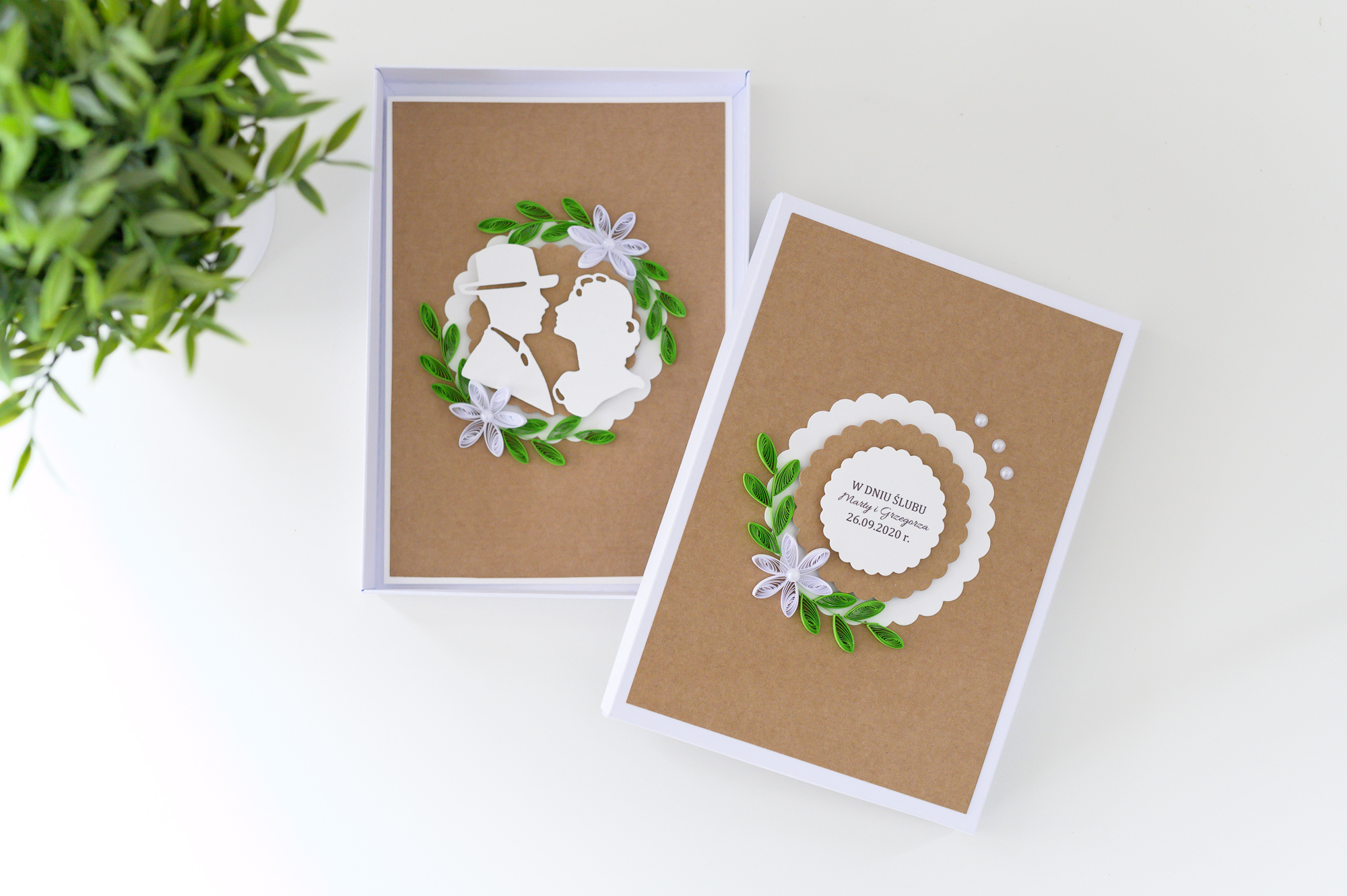 Read more about the article Boho Wedding Unique Handmade Greeting Card