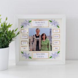 Podziękowania ślubne dla rodziców – złote