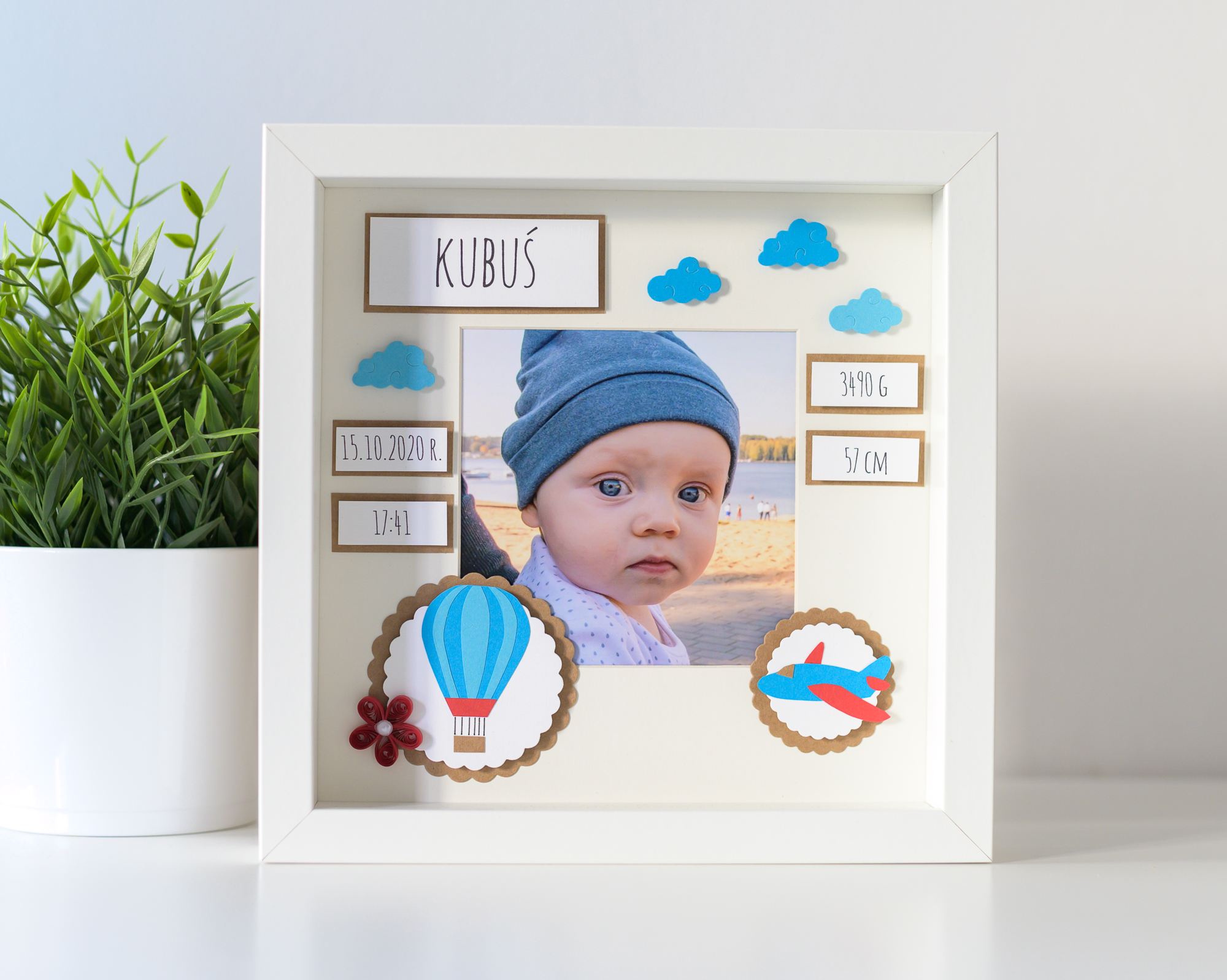 Read more about the article Unique Baby Boy Room Decoration – Personalized Baby Photo Frame