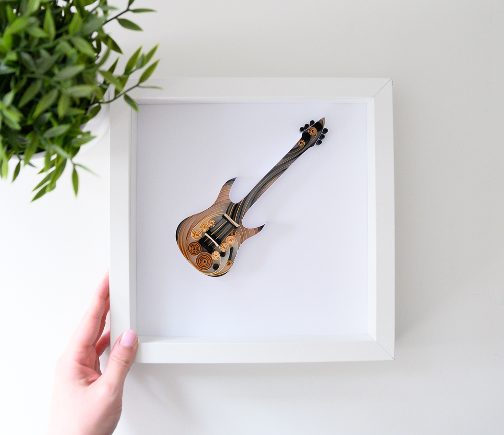 Read more about the article Electric Guitar Wall Art – Unique Music Lovers Gift
