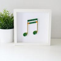 Obrazek z nutą – muzyczna dekoracja