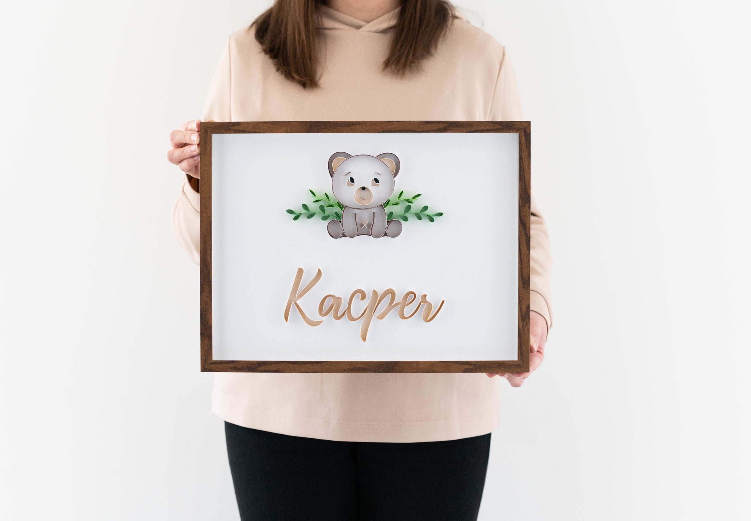 Read more about the article Cute and unique nursery wall decor – 3d baby name sign